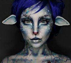 Mehron Makeup, Fx Makeup, Cosplay Makeup, Costume Makeup, Makeup Ideas, Alien Makeup, Makeup Geek, Beauty Makeup, Makeup Jobs
