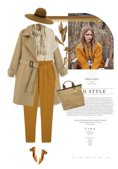 """""""Early Autumn"""" by monazor ❤ liked on Polyvore featuring Behance, MANGO, Prada, Skagen, Maison Michel, mango, casualoutfit, womenfashion, falloutfit and Fall2016"""