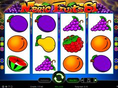 Magic Fruits 81 - http://freeslots77.com/magic-fruits-81/ - Planning a party with some natural, sweet elements is indeed a challenging task. However, you can get enough clues, when you play free Magic Fruits 81 online slot. Wild Symbol The entire graphics of this slot casino game looks magical. Stars falling from top and violet background with golden...