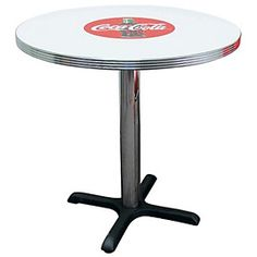 Bull's-Eye Coke Table Item Number: CCS BGA-125-30CBB