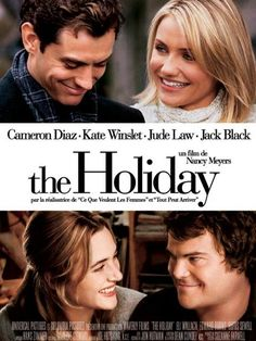 """""""It's Christmas Eve and we are going to go celebrate being young and being alive."""" ~ The Holiday ~ 2006"""