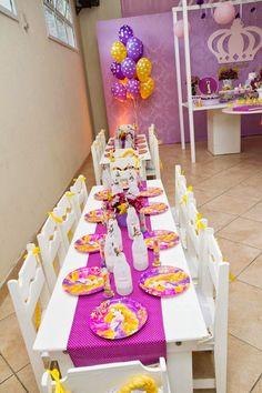 Festa Rapunzel - Enrolados - Mamãe Coruja Festas