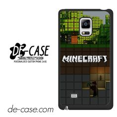 Minecraft Diging DEAL-7273 Samsung Phonecase Cover For Samsung Galaxy Note Edge