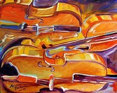 Abstract Violins