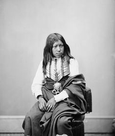 The Comanche Indian known as Buffalo Hump 1872.