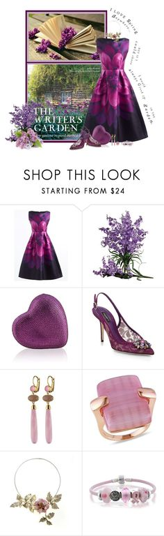 """Books&Fashions Contest - Spring has Sprung"" by montse-gallardo ❤ liked on Polyvore featuring Judith Leiber, Dolce&Gabbana, Catherine Catherine Malandrino and Bling Jewelry"