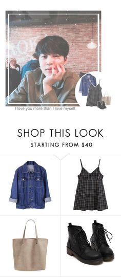"""lunch date with jimin"" by jk-jaylene ❤ liked on Polyvore featuring Madewell"
