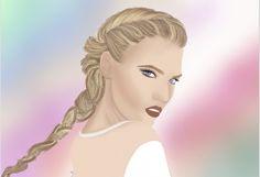 drawing #illustration #instagram #womanpower  www.instagram.com/http://www.instagram.com/fashion_illustarion_procreate/
