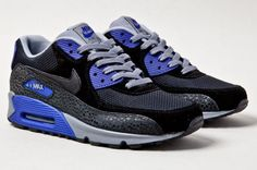 Nike Air Max 90 Essential - Purple Safari #sneakers #kicks