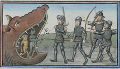 Epitre d'Othea, by Christine of Pizan -- Cod. Bodmer 49, 46r (Cologny, Fondation Martin Bodmer)