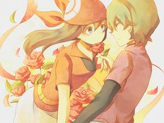 One of my favorite Pokemon couples ❤ Drew x May