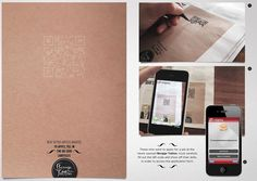 Clever QR code for tattoo artists