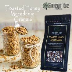 Wholesale Granola and Muesli products of Mulberry Tree represent the absolute best of nature. All our products are hand-prepared using the best quality ingredients from Australia's sun drenched farmlands. Start your day with sustained energy. Crunchy Granola, Mulberry Tree, Roasted Almonds, Breakfast Cereal, Muesli, Healthy Breakfast Recipes, Whole Food Recipes, Toast, Spices