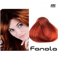 Vopsea de par blond aramiu intens 7.44 Fanola Blond, Colour, Color, Colors