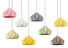 DECO / Inspiration / Choisir une suspension design originale et poétique (ici un origami).