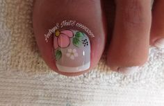 Toe Nail Art, Toe Nails, Pedicure Nails, Manicure, Diamond Nails, Nail Art Designs, Lily, Ecuador, Instagram
