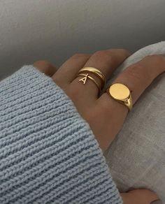 Hand Jewelry, Dainty Jewelry, Cute Jewelry, Gold Rings Jewelry, Golden Jewelry, Greek Jewelry, Trendy Jewelry, Luxury Jewelry, Jewelry Trends