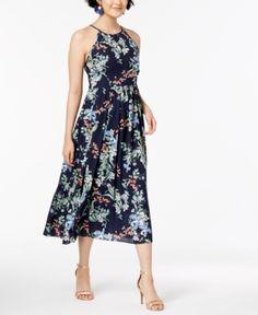 50b67e8bd3 City Studios Juniors  Lace Printed 2-Pc. Fit   Flare Dress - White 9 ...