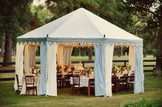 Real Backyard Wedding Wedding Reception Photos on WeddingWire