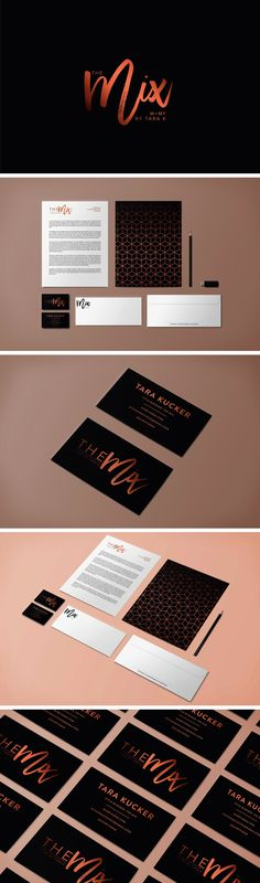 The Mix by Tara K Brand Identity - logo design, wordpress theme, mood board inspiration, blog design idea, graphic design, branding, style blog, fashion blog