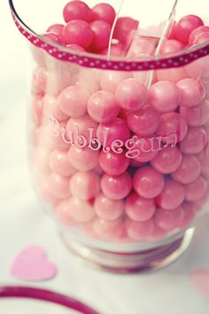 Bubblegum  #wedding #candy and #candywarehouse