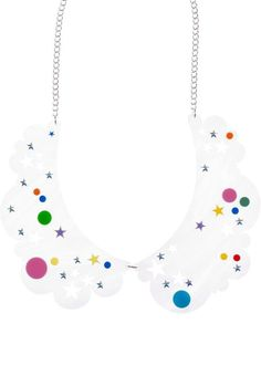 Head In The Clouds Collar Necklace £150 (sale £105) - AW13 Sky Lab