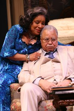 CAT ON A HOT TIN ROOF - starring   James Earl Jones and Phylicia Rashad