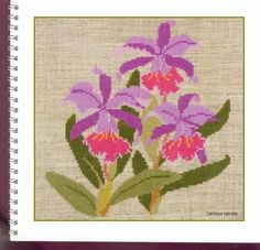 Gallery.ru / Фото #19 - 1999 - Mosca Embroidery Needles, Cross Stitch Embroidery, Cross Stitch Patterns, Crochet Bedspread, Cross Stitch Pictures, Iris Flowers, Cross Stitch Flowers, Christmas Cross, Cross Stitching