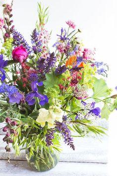 Zomaar wat mooie kleurtjes. Je huis kan immers niet zonder flowers and bouquets