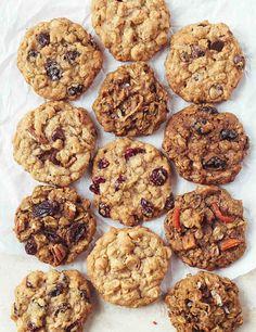 Choose your own adventure oatmeal cookies!!  Best Oatmeal Cookies Recipe
