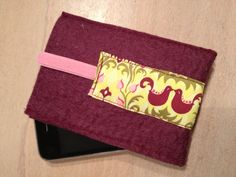 Felt mobile phone case. £5.00, via Etsy. Made by my clever mummy! Go and have a look!
