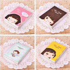 Mini Cute Diary Cookie Girl Planner Pocket Journal School Study Notebook Korean Agenda Notepad Tiny Memo Free Note Gift5