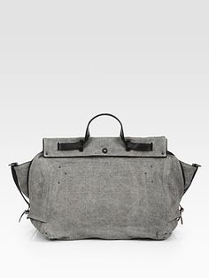 Jerome Dreyfuss Carlos Canvas Tote Bag - You can just feel the quality!