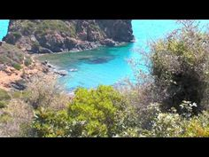 A video is a collection of more beautiful Mediterranean beaches of the Marina di Tertenia...