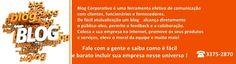 fabrica de blogs  desde 2003 produzindo conteúdo de relevãncia através do marketing eletrônico