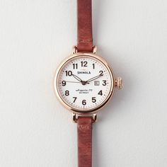 Rank & Style Top Ten Lists | Shinola Birdy Watch  http://www.rankandstyle.com/top-10-list/best-gifts-to-keep-it-classy-chic-and-charming/