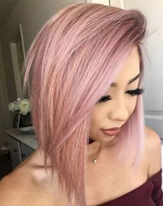 Rose Gold Hair Ideas 3311