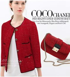 13 Chanel Cardigan Ideas of Chanel Cardigan - Chanel Cardigan - Ideas of Chanel Cardigan - 13 Chanel Cardigan Ideas of Chanel Cardigan 13 Chanel Jacket Trims, Chanel Style Jacket, Chanel Couture, Rock Chic, Blazer And T Shirt, Style Casual, My Style, Trajes Business Casual, Business Professional Outfits