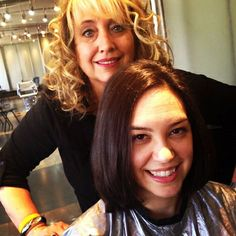Christie Belfiore, Associate Marketing Manager for AGE Beautiful donates her hair to charity!