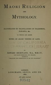 Maori religion and mythology. Illustrated by translations of traditions, karakia, &c., to which are added notes on Maori tenure of land : Shortland, Edward, 1812-1893 : Free Download, Borrow, and Streaming : Internet Archive Polynesian People, Maori Art, Early Childhood Education, The Borrowers, Mythology, Religion, Archive, Notes, Internet