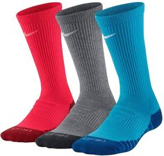 Treat his feet to these boys' Nike crew socks. Nike Socks, Boys Nike, Circle Design, Sports Equipment, Crew Socks, Sport Outfits, Packing, Fitness, Red