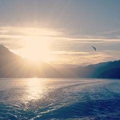 La navegación va terminando y yo quedé alucinada: hace años que vengo a Bariloche pero nunca hice una excursión embarcada. #PuertoBlest vale muchísimo la pena! Pronto tendrán toda la info en el Blog para organizar su paseo y aprovechar un día en un entorno único. A ustedes les trasmite tanta paz como a mi esta foto? Desde la proa del barco saludando a #Bariloche diciendole hasta pronto! NOS VAMOS A RECORRER CHILE!!!
