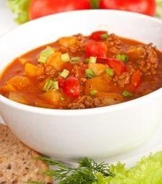 Hamburger Soup Recipe L85 soup