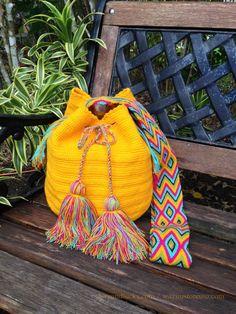 Wayuu Bags / Wayuu Mochilas are handmade by the by loveandlucky, $80.00