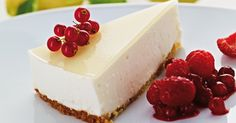 Simple lemon cheesecake (Marc Fosh)