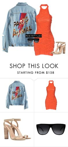 """""""-"""" by roexstylez89 ❤ liked on Polyvore featuring High Heels Suicide, Balmain, adidas and Yves Saint Laurent"""