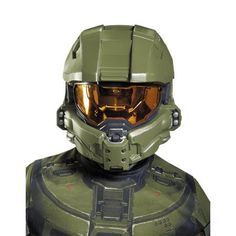 OFF or FREE SHIP -Master Chief Child Half Costume Mask : One vacuform plastic half mask. One size fits most children. Childrens Halloween Costumes, Halloween Kostüm, Halloween Costumes For Kids, Halo Master Chief, Halloween Accessories, Costume Accessories, Motocross, Master Chief Costume, Airsoft Mask