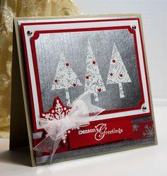 Stampin Up Card Gallery 2012 | ... Card - Handmade Greeting Card - Seasons Greetings - Stampin Up - OOAK