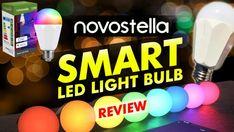 Novostella Smart Led Light Bulb Review Smart Lights, Life App, App Support, Overhead Lighting, Romantic Dinners, Alexa Device, Make Color, Shades Of White, Kit Homes