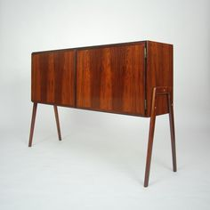Gunni Omann Attributed; Rosewood Sideboard for Omann Jun Mobelfabrik,, 1960s.